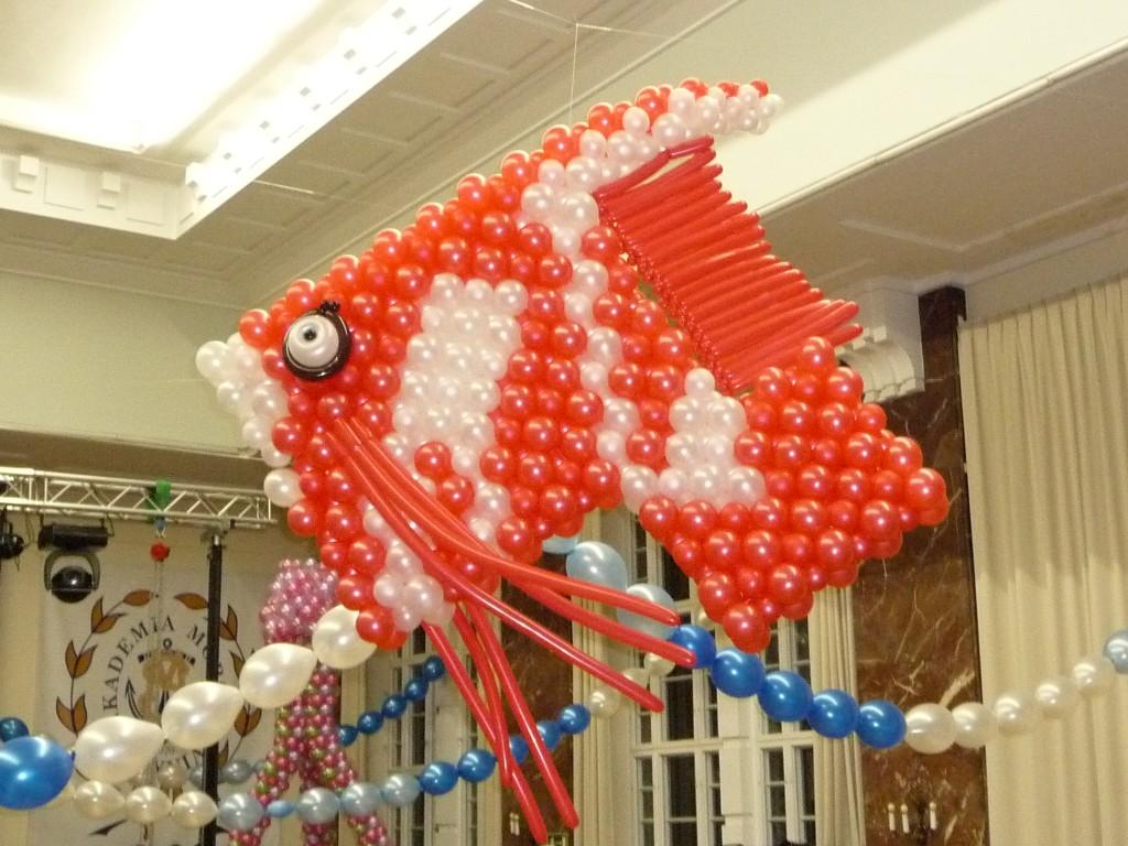 ryba z balonów