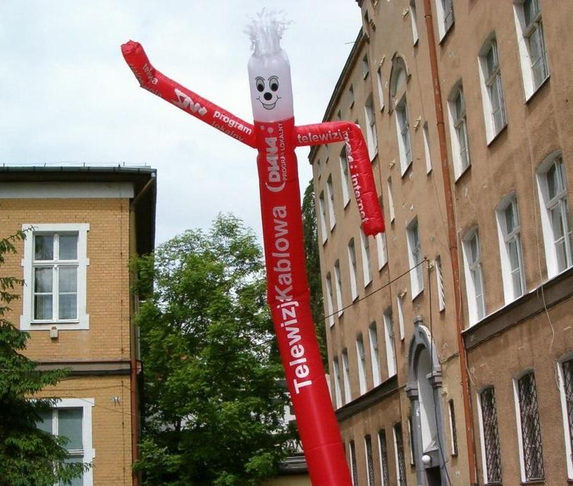 Sky dancer jako alternatywa dla dużych dmuchanych balonów - Albex.pl