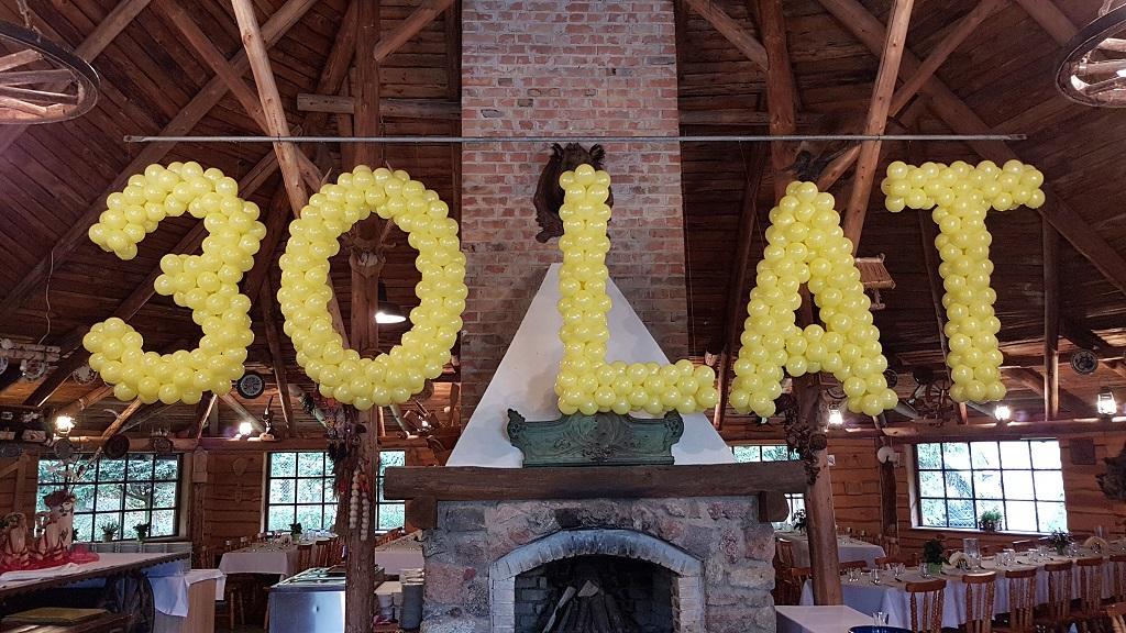 Rodzaje dekoracji balonowych