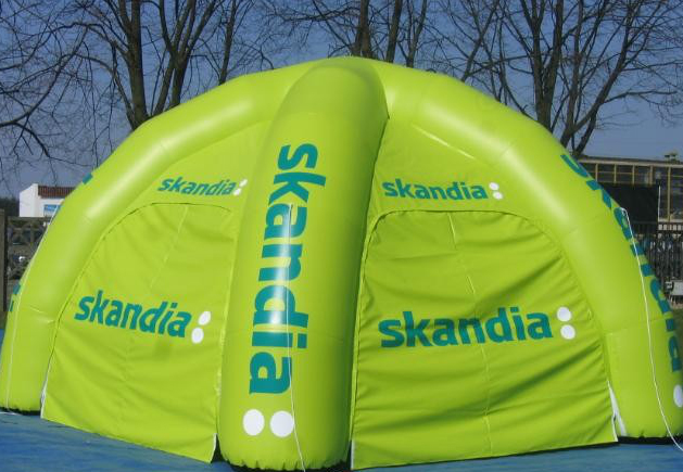 Rodzaje pneumatycznych namiotów