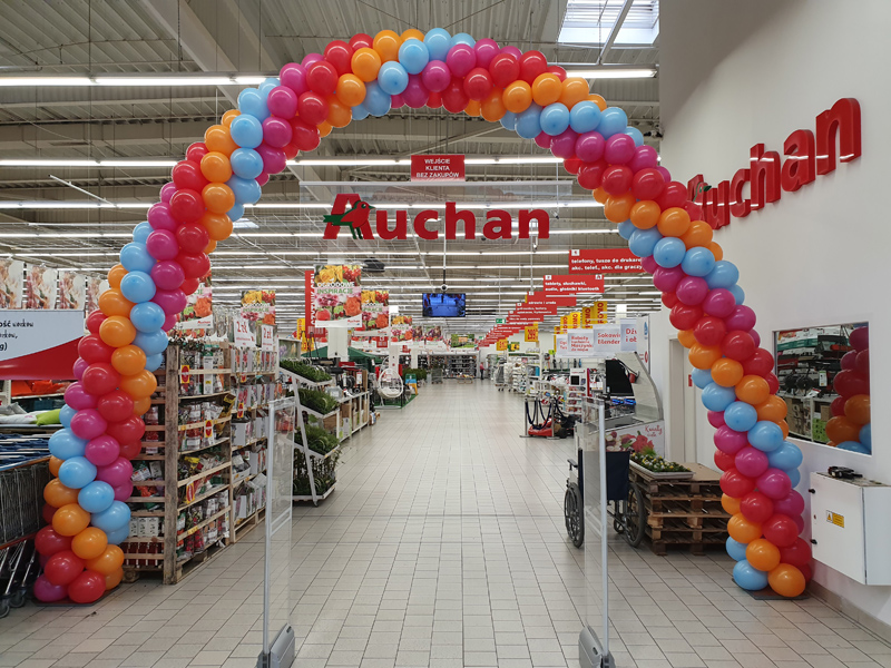 Dekoracje balonowe na otwarcie sklepu i lokalu usługowego – jakie wybrać?